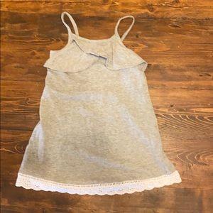 GAP Dresses - Jersey dress with eyelit trim